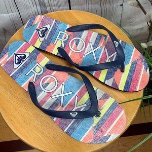 Roxy Flip Flop Sandals Blue